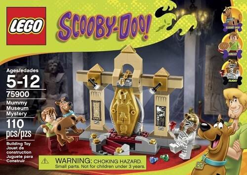 Lego Scooby-Doo 75900 - Bảo tàng xác ướp bí ẩn