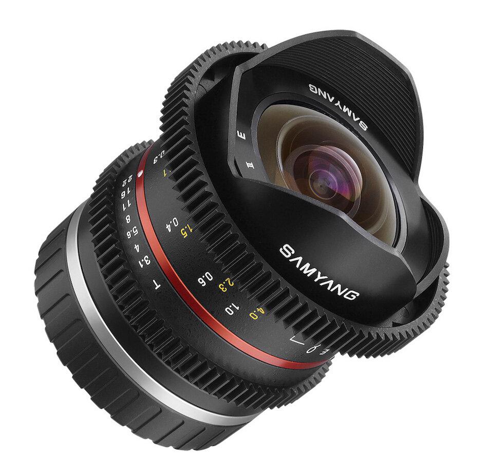 Lens Samyang 8mm T3.8 VDSLR II Fisheye