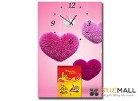 Lịch Lốc Đồng Hồ Tranh Tình Yêu Suemall DHL140925