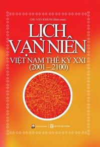 Lịch Vạn Niên Việt Nam Thế Kỷ XXI 2001