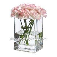 Lọ hoa vuông Rektangel - 14 cm