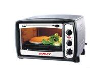 Lò nướng cơ Sanaky VH-258 (VH258 / S/ B/ N) - 25 lít, 1500W
