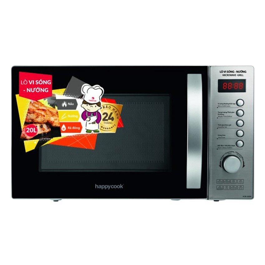 Lò vi sóng có nướng HappyCook HCM-20DM - 20L