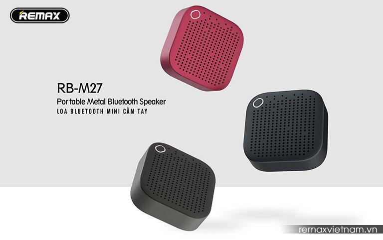 Loa Bluetooth mini cầm tay Remax RB-M27