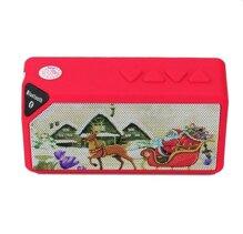 Loa Bluetooth mini X3A Ông già noel (Đỏ)