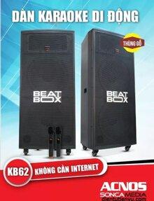Loa kéo di động Acnos Beatbox KB62 - Tích hợp đầu karaoke 5 số di động