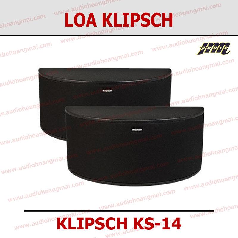 Loa Klipsch KS-14, loa surround dòng Icon