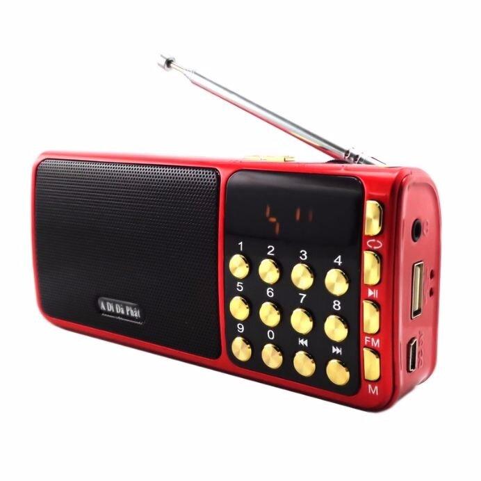 Loa nghe nhạc USB Thẻ Nhớ FM A Di Đà Phật SA 932