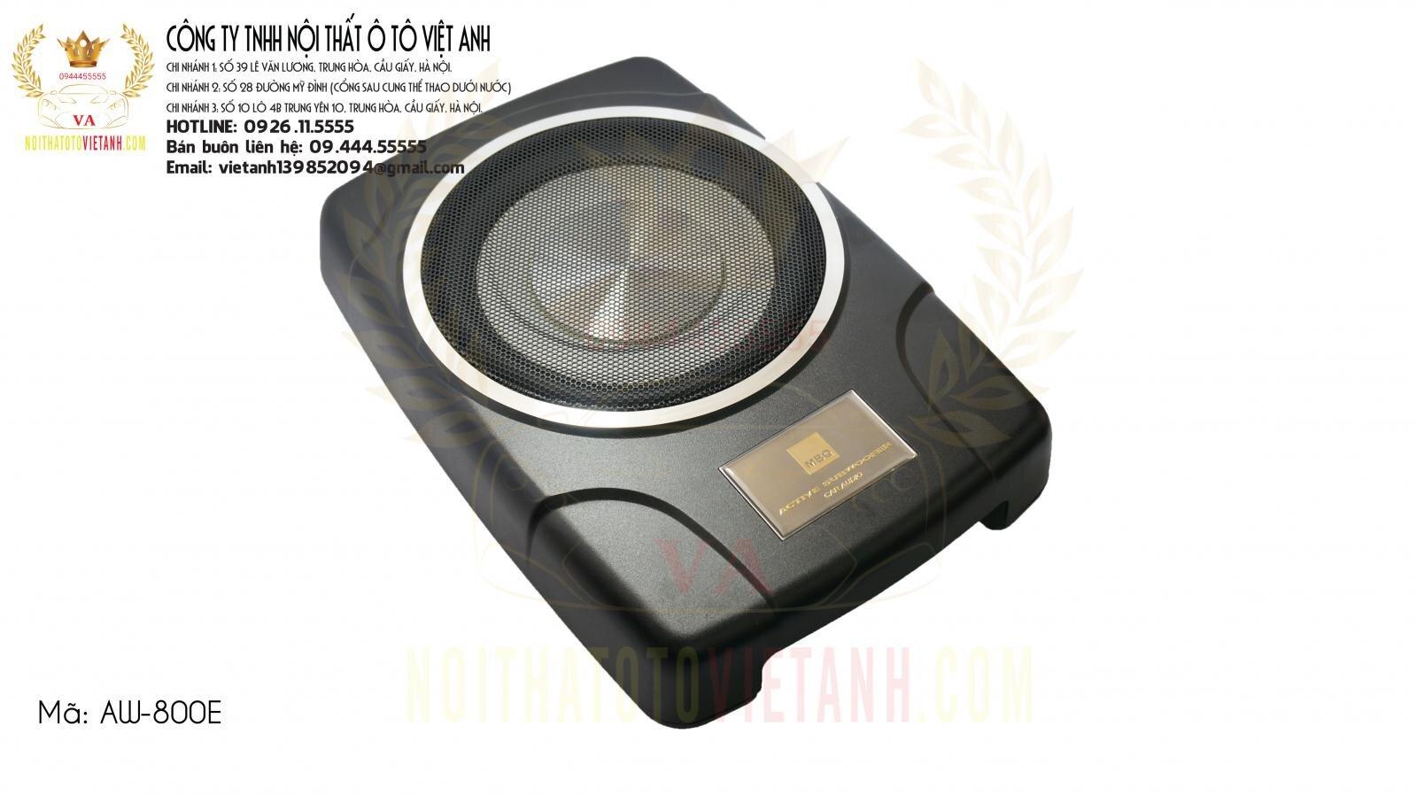 LOA siêu trầm MBQ 800E