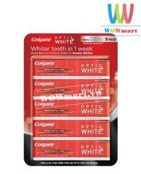 Lốc 5 kem đánh răng colgate optic white