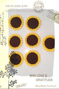 Lót ly hoa hướng dương L900
