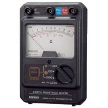 Đồng hồ đo điện trở đất Sanwa PDR302