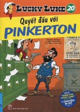 Lucky Luke (T20): Quyết đấu với Pinkerton - Morris & Goscinny