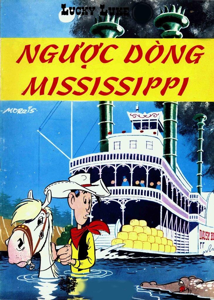 Lucky Luke (T27): Ngược dòng Mississippi - Morris & Goscinny