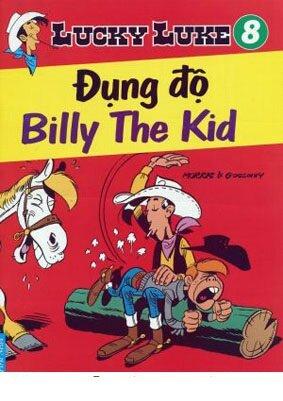Lucky Luke (T8): Đụng độ Billy The Kid - Morris & Goscinny