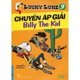 Lucky Luke (T9): Chuyến áp giải Billy The Kid - Morris & Goscinny