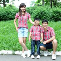 Sơ mi gia đình AG0464