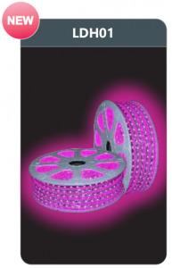 Đèn led dây cao áp ánh sáng hồng Duhal LDH01