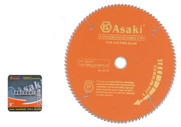 Lưỡi cắt gỗ+ nhôm Asaki AK-8692