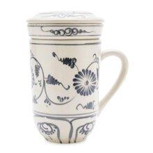 Ly lọc trà hoa cúc xanh Mỹ Nghệ Việt MNV-PTCX01 8 x 12 cm