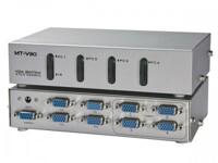 Bộ chia màn hình VGA Viki 4 ra 4 350mhz mt 404ch có điều khiển