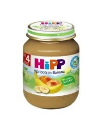 Dinh dưỡng đóng lọ HiPP chuối mơ 125g