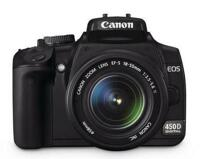 Máy ảnh DSLR Canon EOS 450D (Kiss X2 / Rebel XSi) body - 4272 x 2848 pixels