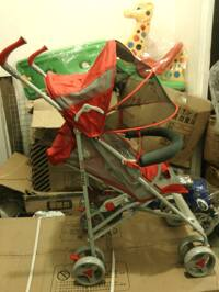 Xe đẩy trẻ em lưới thoáng mát SF-S108