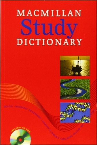Macmillan Study Dictionary: paperback With CD-ROM – Paperback