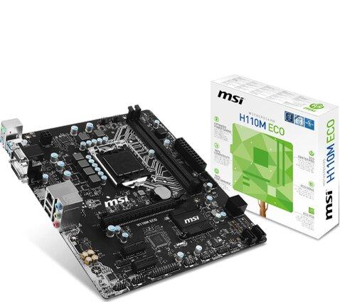 Mainboard MSI H110M ECO