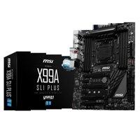 Mainboard MSI X99A SLI PLUS (Chipset Intel X99/ Socket LGA2011-3/ Không)