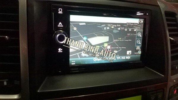 Màn hình DVD cho xe ô tô DVD CLARION NX405A
