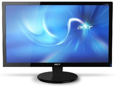 Màn hình máy tính Acer P166HQL - LED, 15.6 inch, 1360 x 768 pixel