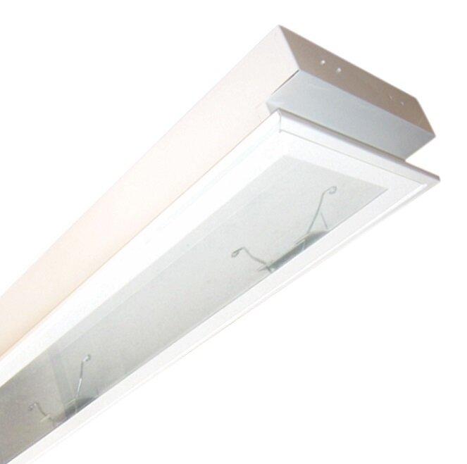 Máng đèn LED tán quang gắn âm trần Duhal LLA 120 (LLA120)