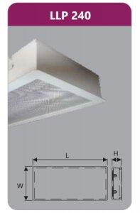 Máng đèn tán quang âm trần Duhal LLP240