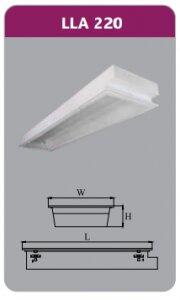 Máng đèn tán quang âm trần Duhal LLA220