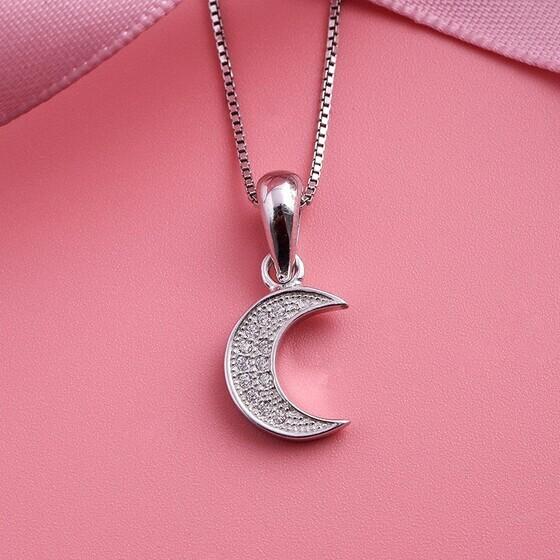 Mặt dây chuyền bạc Beauty Moon
