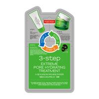 Mặt nạ 3 chức năng se khít lỗ chân lông Purederm 3 Step Extreme Pore Hydrating Treatment 25g