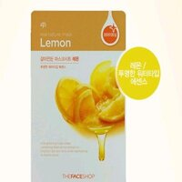 Mặt nạ chanh The Face Shop Real Nature Mask Lemon