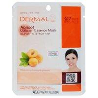 Mặt nạ dạng giấy Dermal tinh chất Collagen với chiết xuất mơ