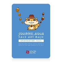 Mặt nạ dưỡng ẩm hình sóc SNP Squirrel Aqua Face Art Mask 25ml