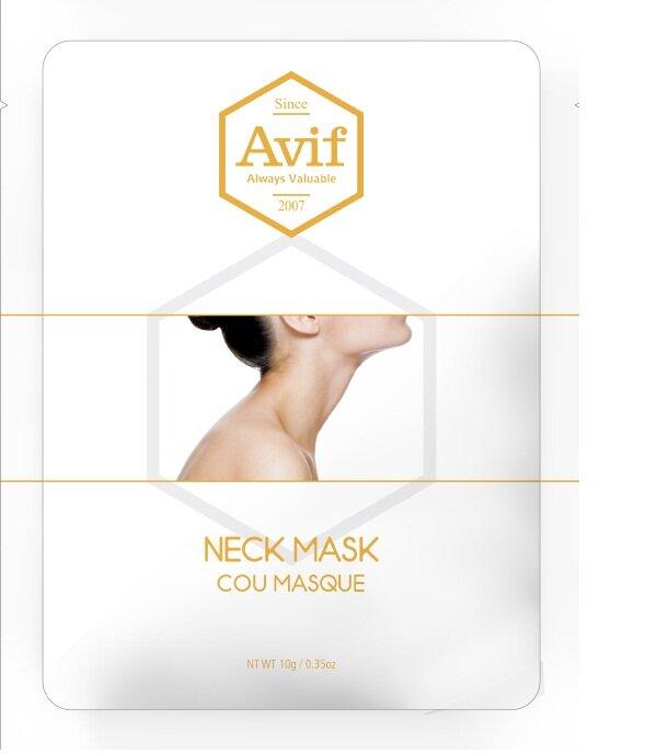 Mặt nạ dưỡng da vùng cổ Avif Biocell Neck Mask