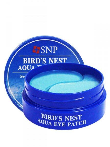 Mặt nạ dưỡng da vùng mắt tinh chất tổ yến SNP Bird's Nest Aqua Eye Patch 60 miếng