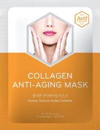 Mặt nạ giảm lão hóa Avif Collagen Anti-aging Mask)