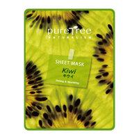 Mặt nạ giấy dưỡng da chiết xuất từ quả Kiwi Puretree 20g
