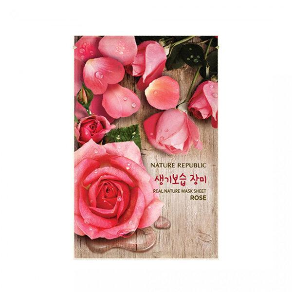 Mặt nạ hoa hồng Nature Republic Real Nature Rose Mask Sheet 23ml