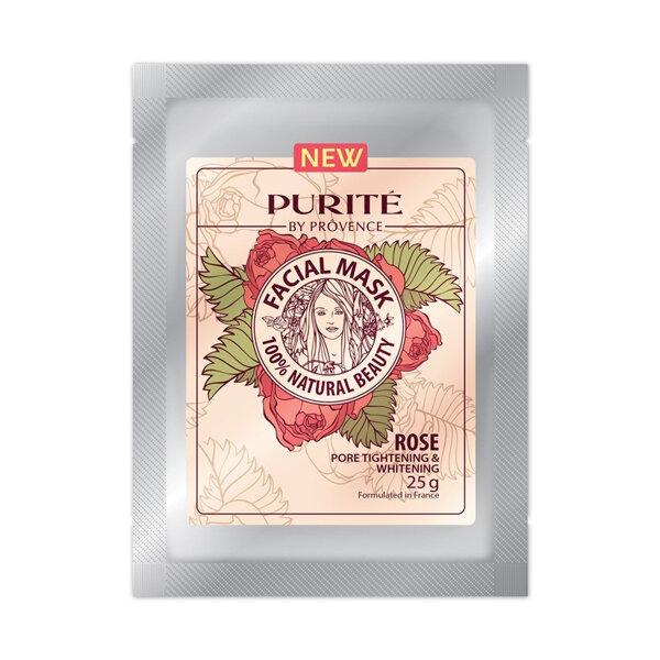 Mặt nạ hoa hồng Purite by Provence Rose Facial Mask 25g
