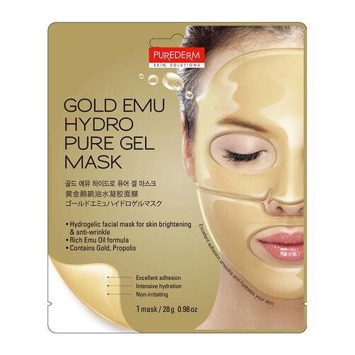 Mặt nạ Hydro cao cấp tinh chất vàng Purederm Gold Emu Hydro Gel Mask 28g