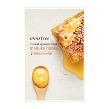 Mặt nạ mật ong Innisfree Its real squeeze mask Manuka Honey