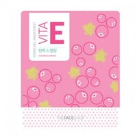 Mặt nạ miếng Hydro Vitamin E Gel Mask Sheet TheFaceShop